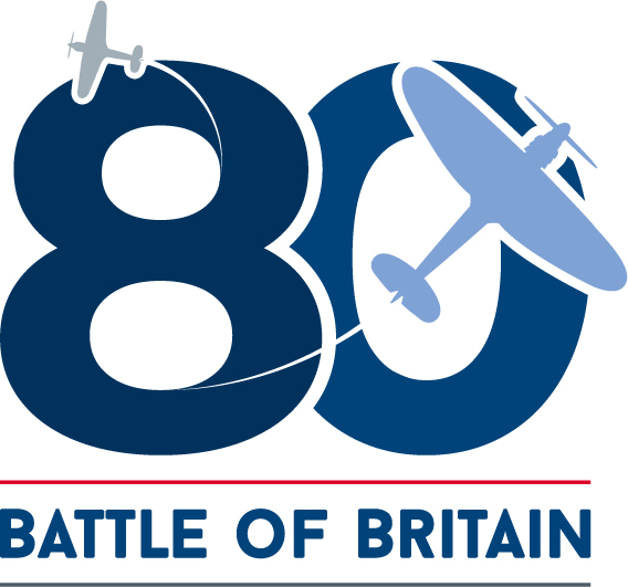 The Battle of Britain 80th Anniversary Logo