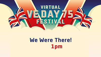 Here the voices of those who were there on VE Day
