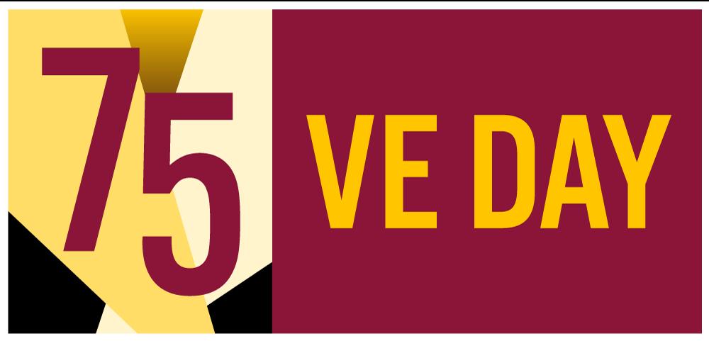 VEDay 75 Logo