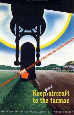 Keep your aircraft to the tarmac
