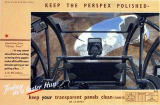 Keep your transparent panels clean (turrets)
