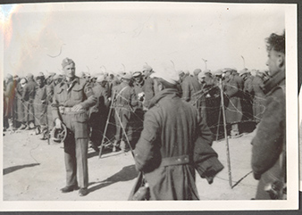 Czechoslovak soldiers, together with Poles, were initially guarding German and Italian POW.