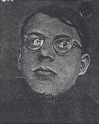 Photo of Arnošt VALENTA from his university student's record book