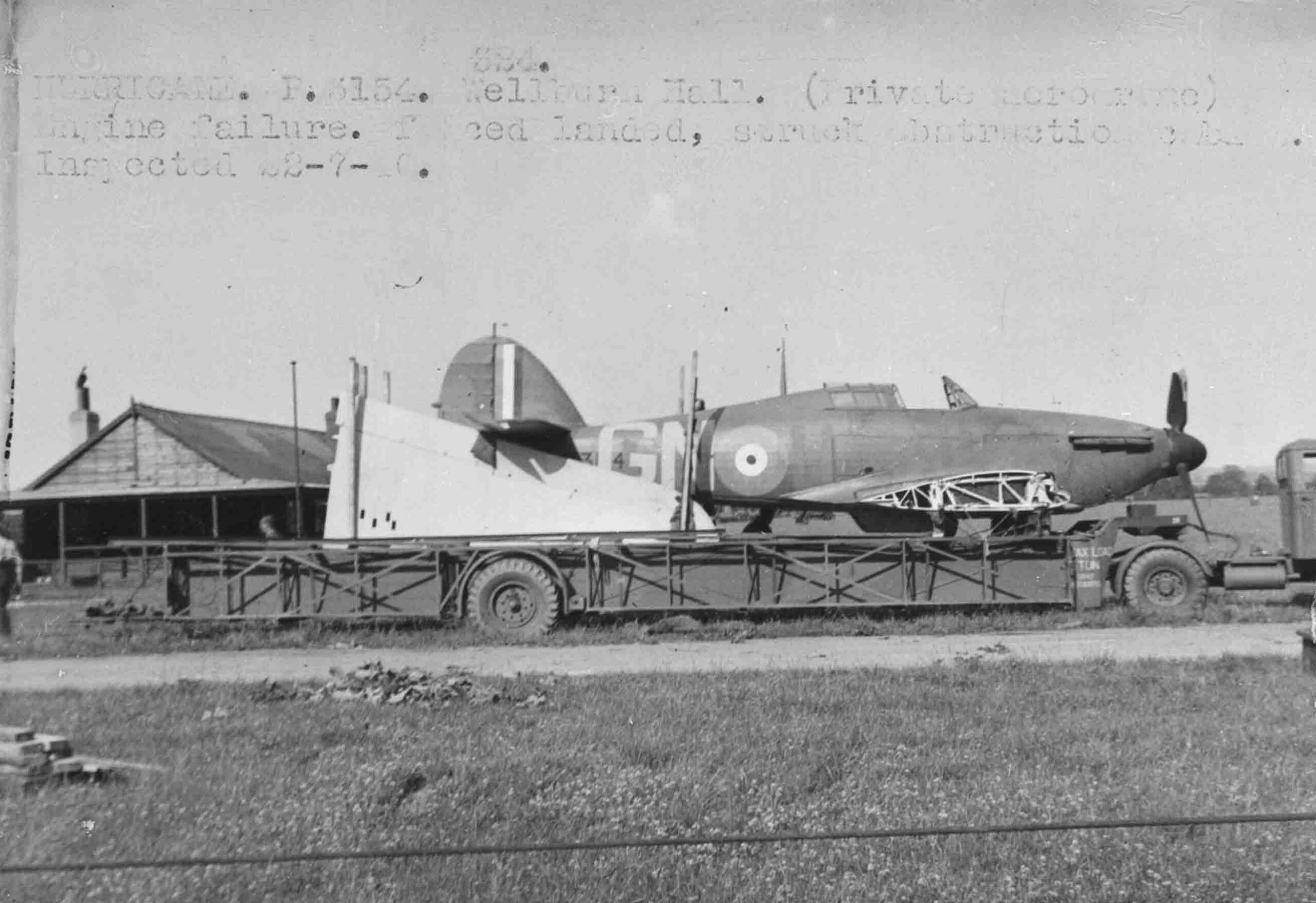 Bedford OXC with Taskers 5-Ton Long Low Loading Articulated Trailer (Queen Mary) (PC72/45/36)