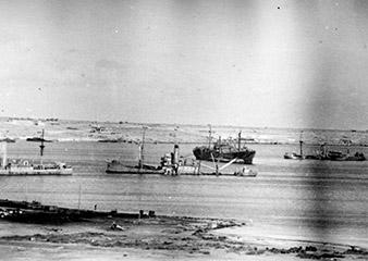 Tobruk Harbour. 1941. Zdenek Hurt collection