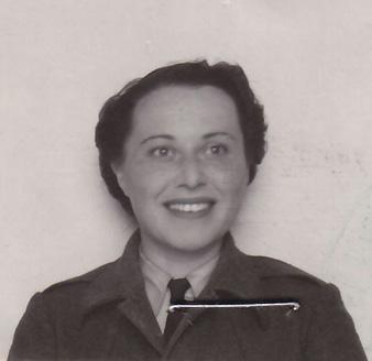 Hanna Müllerová, née Hönigová (b. 1916).
