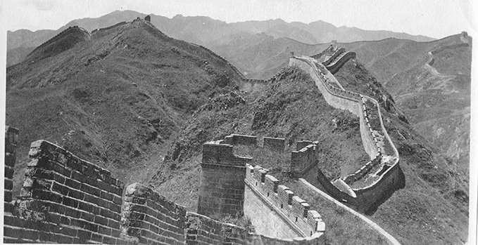 The Great Wall of China, 1927