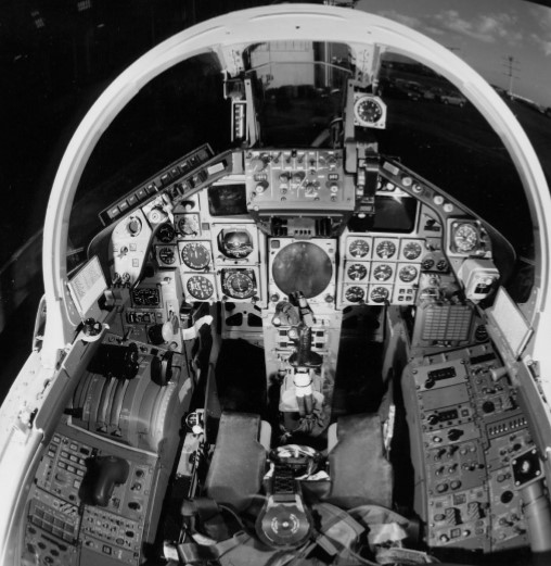 Early production Tornado front cockpit