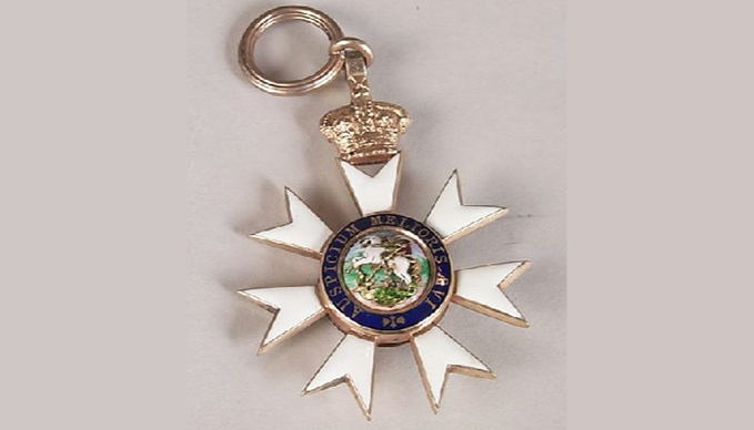 The Order of St Michael and St George