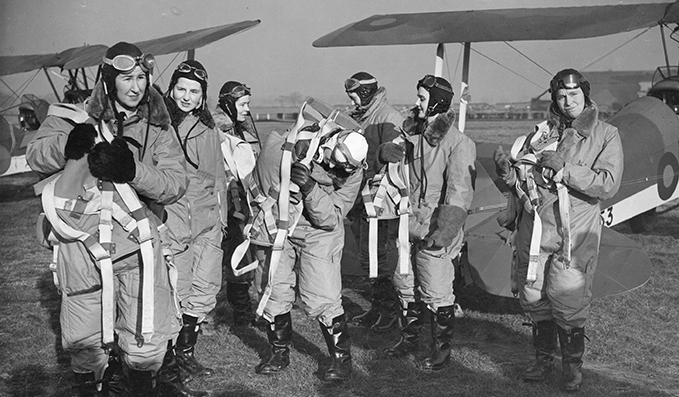 The first female ATA pilots were only allowed to fly little trainer biplane aircraft