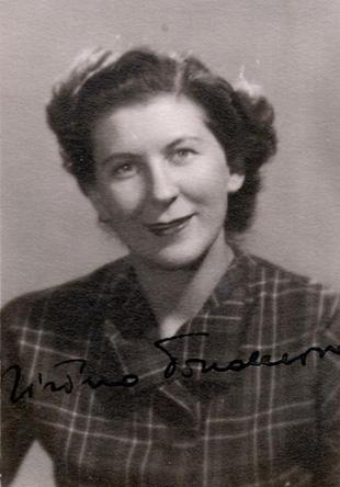 Jirina Tonderová, née Ascherová (1919-2009).