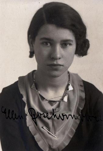Ellen Boxhornová, née Raphael (b. 1915).