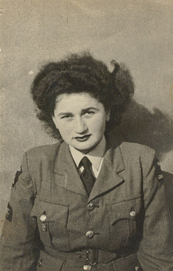 Edita Sedláková, née Hermannová (1926-1945).