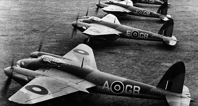 de Havilland Mosquito B IV, the first bomber version.