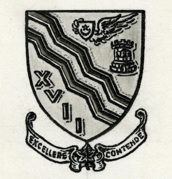 17 Squadron unofficial unit badge.