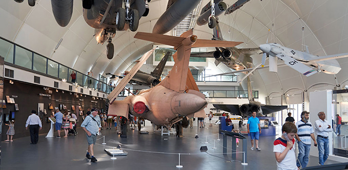 'RAF in the Age of Uncertainty: 1980 - Today' exhibition at the RAF Museum London