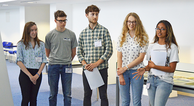 The RAF Museum's Youth Panel 2018