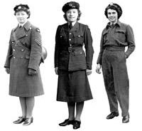 World War II WAAF's uniforms