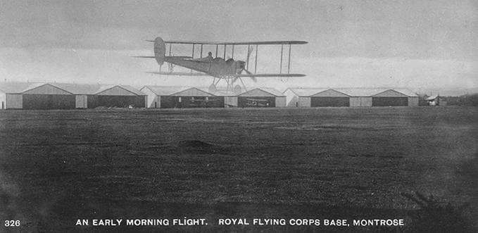 Postcard of RFC Montrose, circa 1913