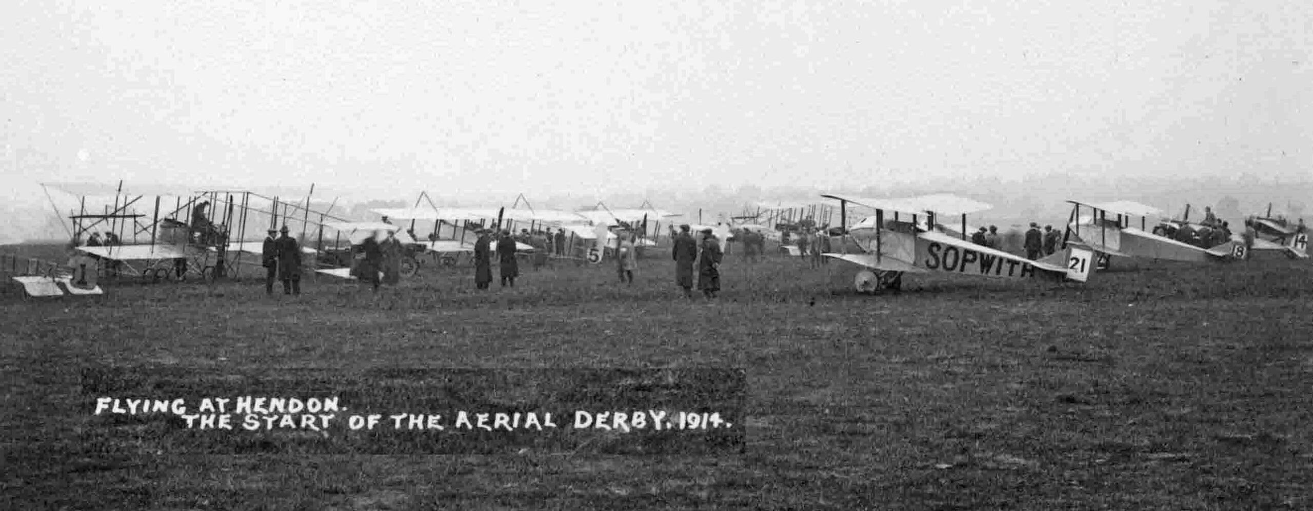Aerial Derby 1914