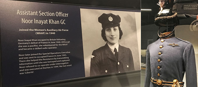 The story of Noor Inayat Khan at our new exhibition and the Full Dress Uniform