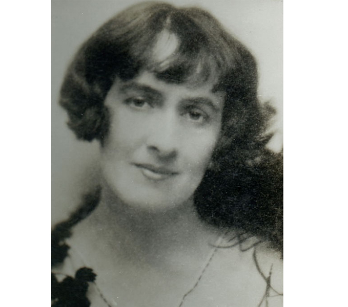 Lady Mary Heath. Reproduced with kind permission of the Royal Aero Club Trust.