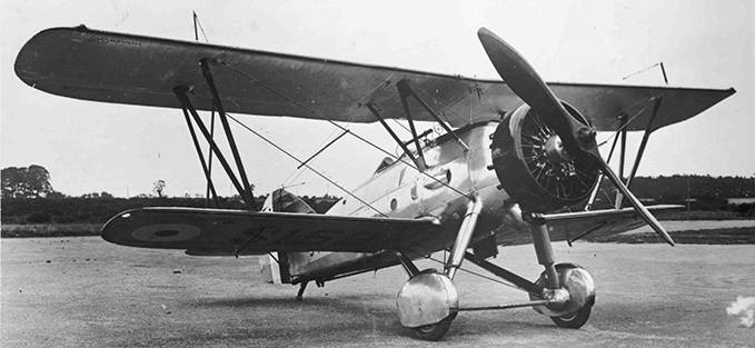 Armstrong Whitworth AW.XVI fighter aircraft of 1931