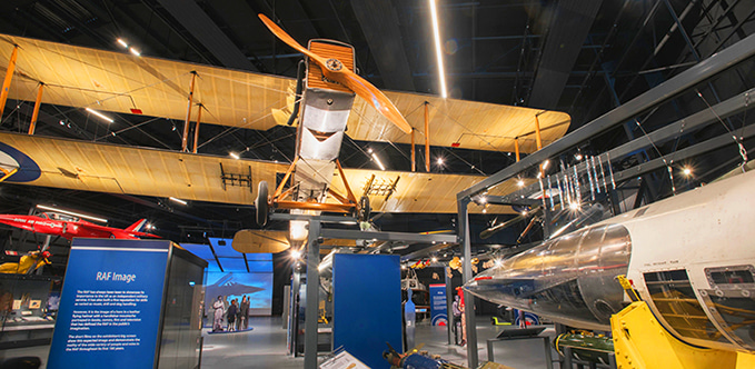 'RAF Stories: The First 100 Years: 1918 - 2018' exhibition at the RAF Museum London