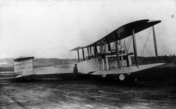 PC74-41-1 Side view of Vickers Vimy before the first Atlantic crossing, 1919