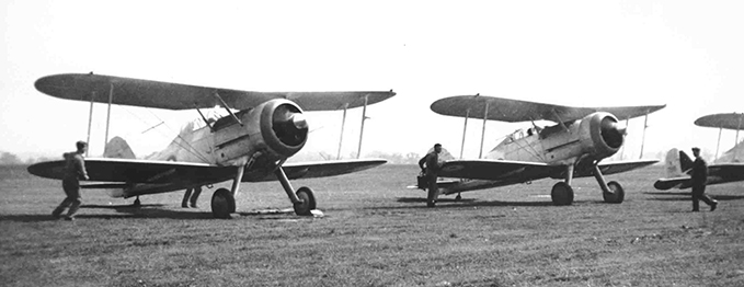 Gloster Gladiators