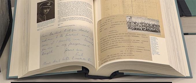 Douglas Bader story in the RAF Centenary Commemorative Anthology