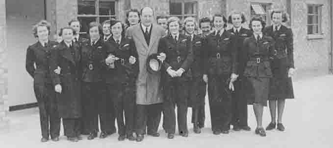 ATA pilots with Lord Brabazon