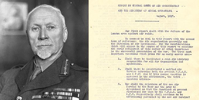 General Jan Smuts and his report