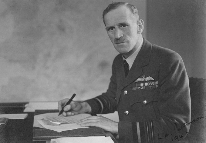 Air Vice-Marshal Pattinson who led the RAF Training Mission in China from 1942 to 1944.