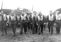 Pilots of 303 (Polish) Squadron, Leconfield, 1940