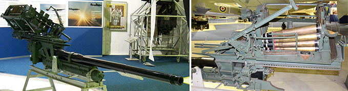Molins 6-Pounder at the RAF Museum London