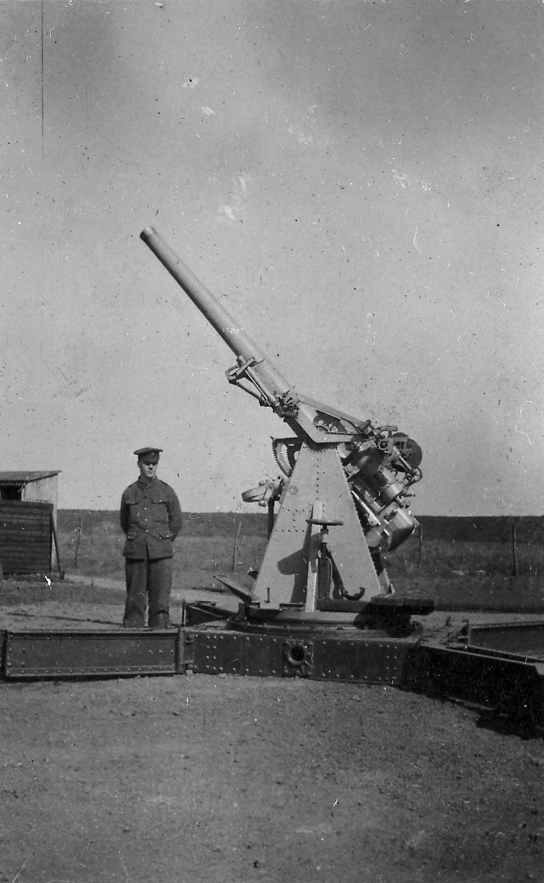 3 inch 20 cwt anti-aircraft cannon