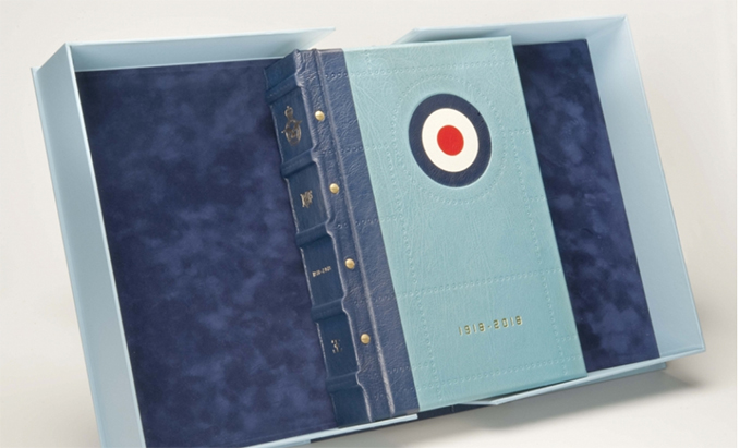 The Signed Edition of the RAF Centenary Commemorative Anthology