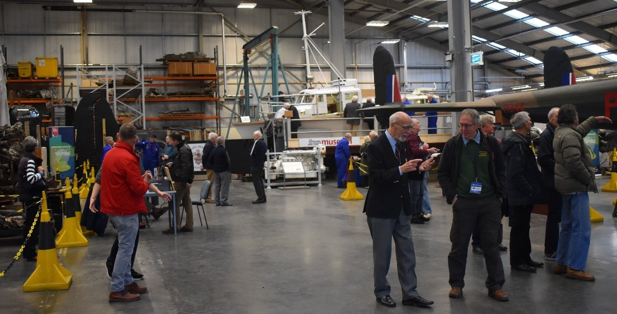 The reciprocal visit for our volunteers at our Cosford site
