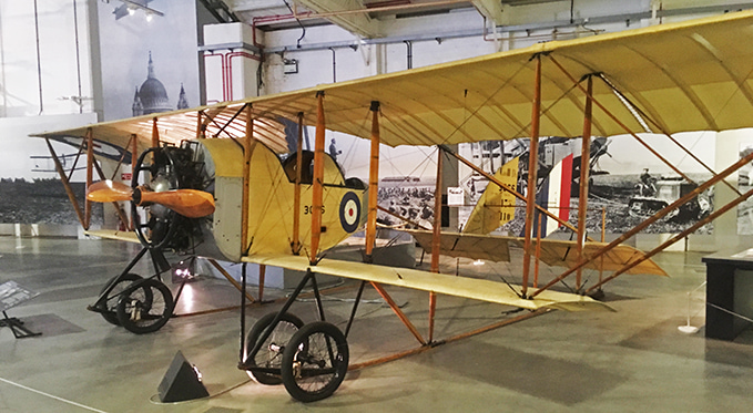 The Caudron G3 was one of the first aircraft to fly in China. It was already an obsolete design when the First World War broke out, but served well as a training aircraft with the RAF and the Chinese forces.