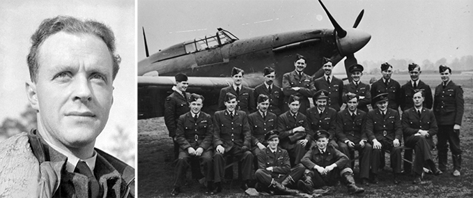 Ray Holmes and No. 504 Squadron