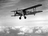 A Fairey Albacore of the Fleet Air Arm