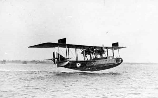 Felixstowe F2A N4513 was one of the three flying boats which took part in the first lighter operation on 19 March 1918.  She was lost on 4 July 1918 following an encounter with four German Brandenburg W29 seaplanes. (RAFM reference: X003-2602/6631)