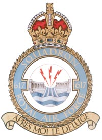 617 Squadron Crest