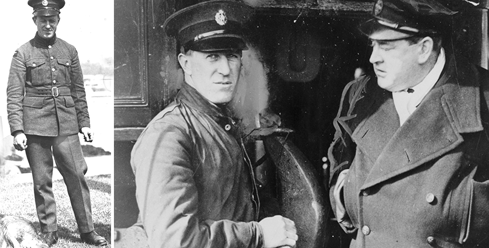 T.E. Lawrence and him again as Aircraftman Shaw with Hubert Scott Paine, owner of British Power boat Co Ltd