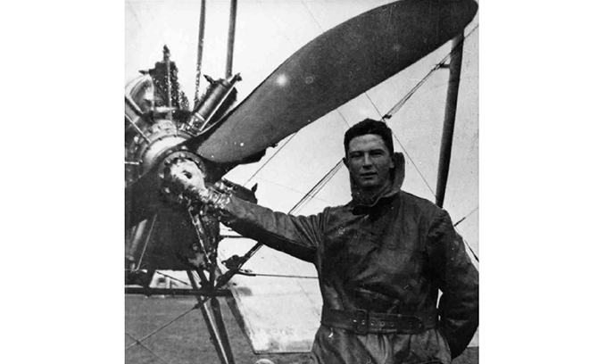 Air Cdr Henry George Crowe about 1917