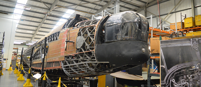 Michael Beetham Conservation Centre (MBCC) at the RAF Museum Cosford