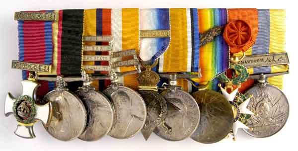 Lt Gen Sir David Henderson's medal group