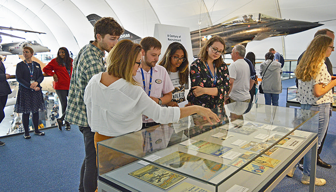 The RAF Museum's Youth Panel Exhibition