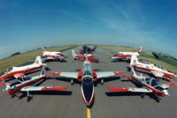 RAF training aircraft of the 1980s and 1990s